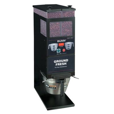 BUNN 33700.0001 BrewWISE G9-2T DBC Black Double Hopper Po...