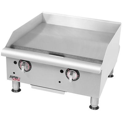 "APW Wyott GGT-18i Thermostatic 18"" Countertop Griddle - 3..."