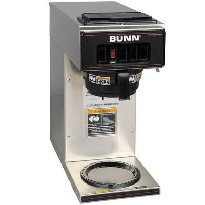 BUNN 13300.0001 VP17-1 SS Stainless Steel Pourover Coffee...