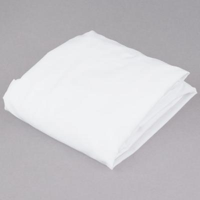 """L.A.Baby 100% White Cotton 27"""" x 52"""" Fitted Crib Sheet"""