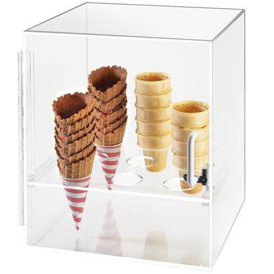 CAL-MIL 386 Nine Cone Ice Cream Cone Holder Cabinet
