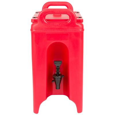Cambro 250LCD158 Camtainer 2.5 Gallon Hot Red Insulated B...