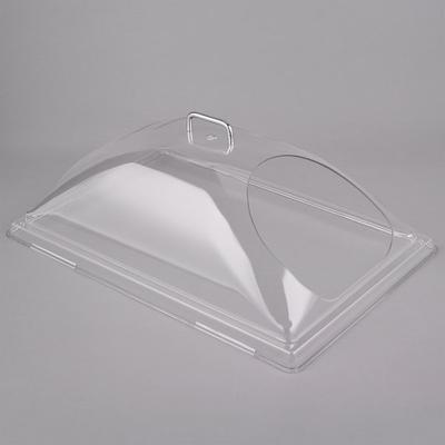 "Cambro DD1220ECW Camwear 12"" x 20"" Clear Dome Display Cov..."