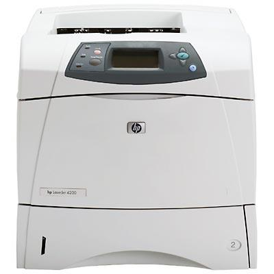 HP LaserJet 4200N Laser Printer 35ppm 1200x1200dpi BW 64MB PC Q2426A#ABA