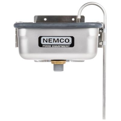 "Nemco 77316-10 10 3/8"" Ice Cream Dipper Well and Faucet Set"
