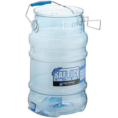 San Jamar SI6000 Saf-T-Ice 6 Gallon Ice Tote