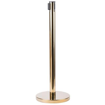 "AARCO HB-7 Brass 40"" Crowd Control / Guidance Stanchion w..."