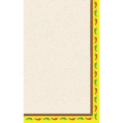 "8 1/2"" x 11"" Menu Paper - Southwest Themed Mariachi Desig..."