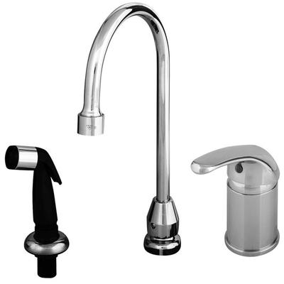 T&S B-2743 Single Lever Faucet with Remote On/Off Control...