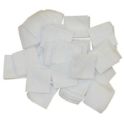Brownells 100% Cotton Flannel Bulk Cleaning Patches - 7/8