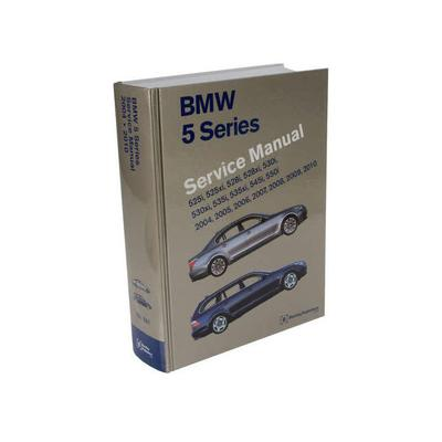2008-2010 BMW 528i Paper Repair Manual - Bentley