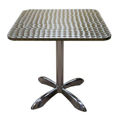 """American Tables And Seating Mfg AL3030 27 1/2"""" Square Alu..."""