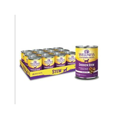 Wellness Chicken Stew with Peas & Carrots Grain-Free Cann...