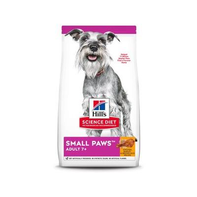 Hill's Science Diet Adult 7+ Small & Toy Breed Dry Dog Food, 4.5-lb bag