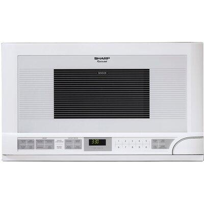 """Sharp 23.88"""" 1.5 cu. ft. Built-in Microwave R1211T"""