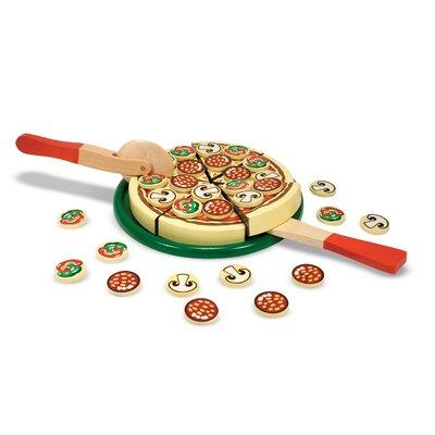 Melissa and Doug 63 Piece Pizza Party Play Set 167
