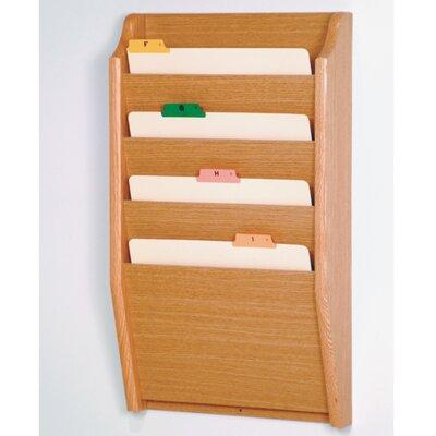 Wooden Mallet Four Pocket Chart Holder CH14-2LO / CH14-2M...