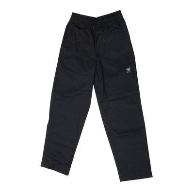 Chef Revival P020BK Size 6X Solid Black Baggy Chef Pants