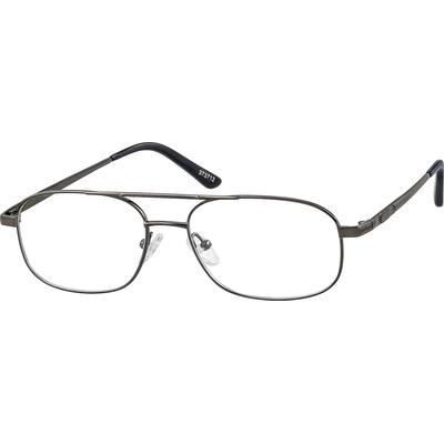 0cc756c96c A modified Aviator style full-rim frame with a more solid feel.