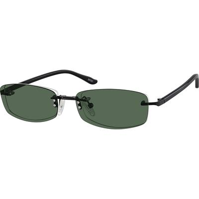 d63cb71c98 ... frame front and acetate temple combination. The polarized magnetically  attached snap-on sunlens exactly match the shape of the eyeglass lens  beneath and ...