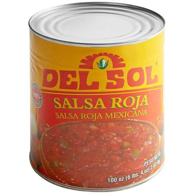 Del Sol Red Mexican Salsa #10 Can