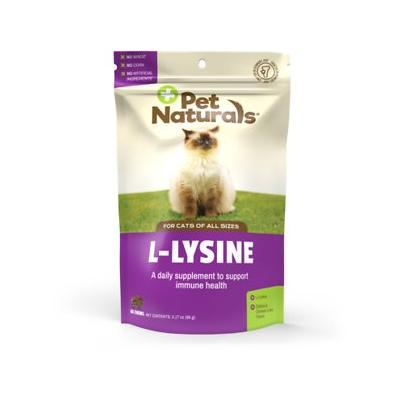 Pet Naturals of Vermont L-Lysine Cat Chews, 3.74-oz, 60 count