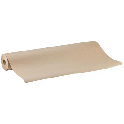 "40"" x 300' 60# Brown Paper Roll Table Cover"