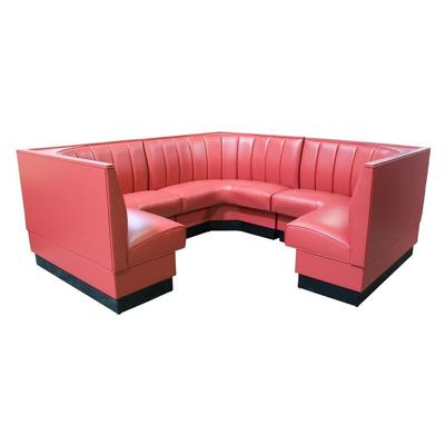 American Tables And Seating Mfg AS-366-1/2 6 Channel Back...