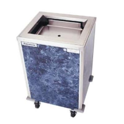 Delfield T-1622 Enclosed Mobile Tray Dispenser w/ Self-Le...
