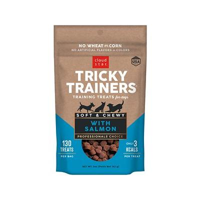 Cloud Star Chewy Tricky Trainers Salmon Flavor Dog Treats...
