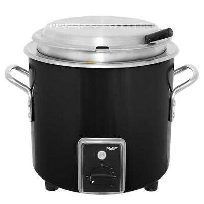 Vollrath 7217760 Black Finish Retro 7 Qt. Stock Pot Kettl...