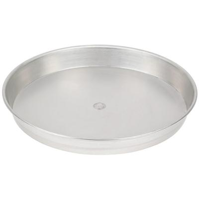 "16"" x 1 1/2"" Tin-Plated Steel Pizza Pan - American Metalc..."