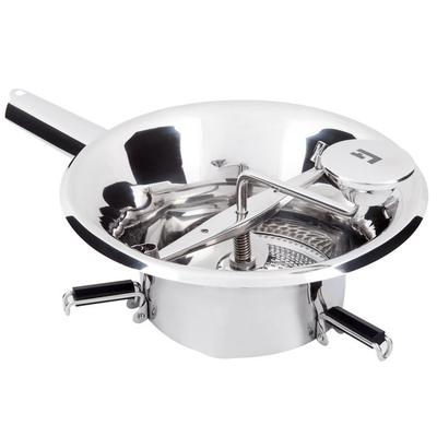 "Tellier N3004X 8 1/4"" Food Mill - Stainless Steel, 3 1/2 Qt."