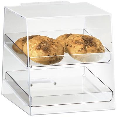 CAL-MIL 280 Classic Two Tier Acrylic Display Case with Re...