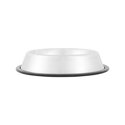 Most dogs are messy eaters, and they all refuse to do the dishes. But with the Stainless Steel No Tip Bowl from Loving Pets, messy eatin\'s never a problem. These dishwasher-safe, easy to clean bowls will never rust and don\'t hold odors. The rubber ring...