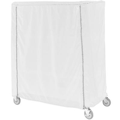 Metro 21X48X74VUC White Uncoated Nylon Shelf Cart and Tru...
