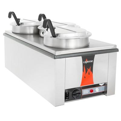 Vollrath 72788 Heat 'N Serve 4/3 Size Countertop Retherma...
