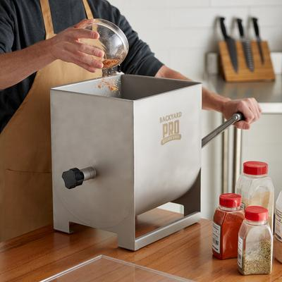44 lb. Manual Meat Mixer with 7 Gallon Tank