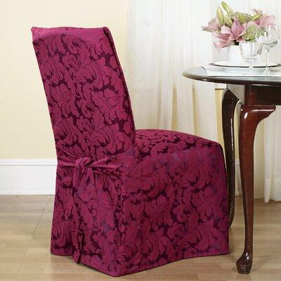 Sure Fit Scroll Classic Dining Chair Skirted Slipcover 17...