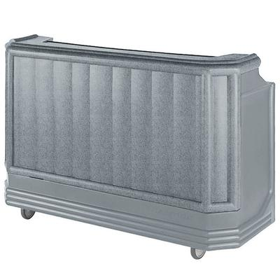 "Cambro BAR730PMT191 Granite Gray Cambar 73"" Post-Mix Port..."