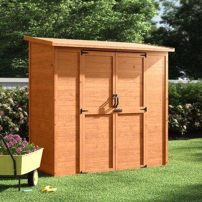 Leisure Season 6.5 Ft. W x 3 Ft. D Wood Lean-To Storage Shed ELSS2003
