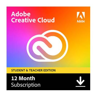 Adobe Creative Cloud (12 Month Subscription, Download, St...