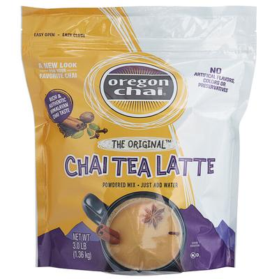 Oregon Chai 3 lb. Original Chai Tea Latte Dry Mix