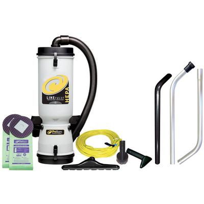 ProTeam 100280 10 Qt. LineVacer Backpack Vacuum Cleaner w...