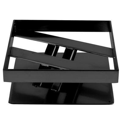 "Elite Global Solutions 3"" PC83 Rectangular Black Metal St..."