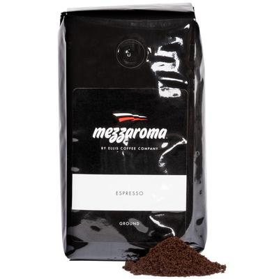 Ellis Coffee Ellis Mezzaroma 12 oz. Dark Regular Ground E...