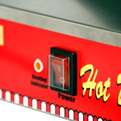 Paragon 8080 Classic Dog Hot Dog Steamer and Merchandiser...