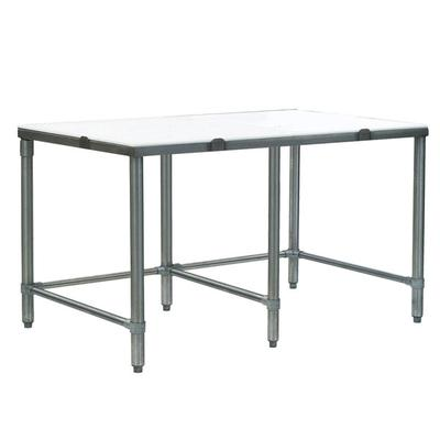 """Eagle Group CT3084S 30"""" x 84"""" Poly Top Stainless Steel Cu..."""