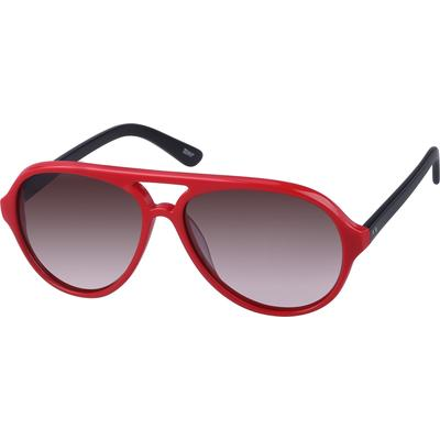 Zenni Womens Sunglasses Red Frame Plastic A10121018