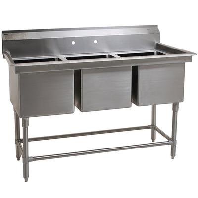 "Eagle Group FN2048-3-14/3 Three 20"" x 16"" Bowl Stainless ..."